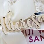 Bridesmaid Tags - Bridesmaid Proposal Tags - Bridesmaid Name Tags - Wedding Party Gift Tags - Bridesmaid Hanger Tags - Wood Name Tags