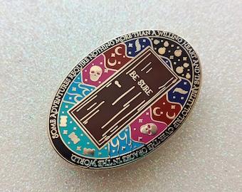 Wayward Children inspired bookish enamel pin   Every Heart a Doorway
