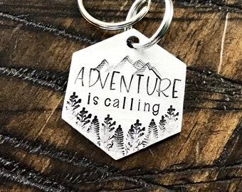 Name Tag Silver Arrow Wanderlust Gift Collar Charm Explorer Dog Tag Handmade