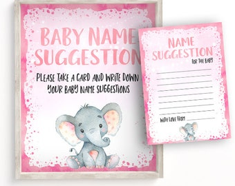 Suggest a name card | Etsy