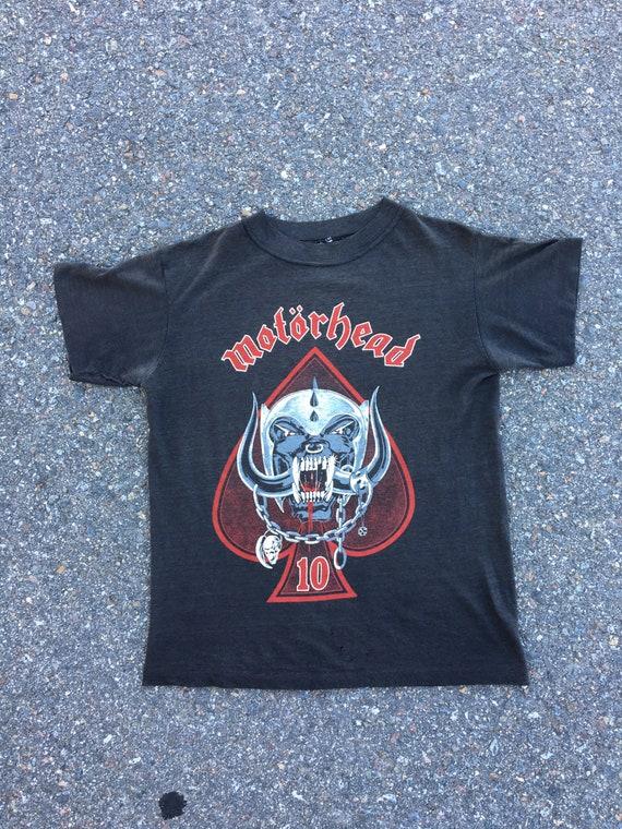 Vintage Motorhead Shirt 1985 World Tour - image 3