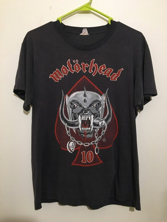 Vintage Motorhead 1985 World Tour Shirt