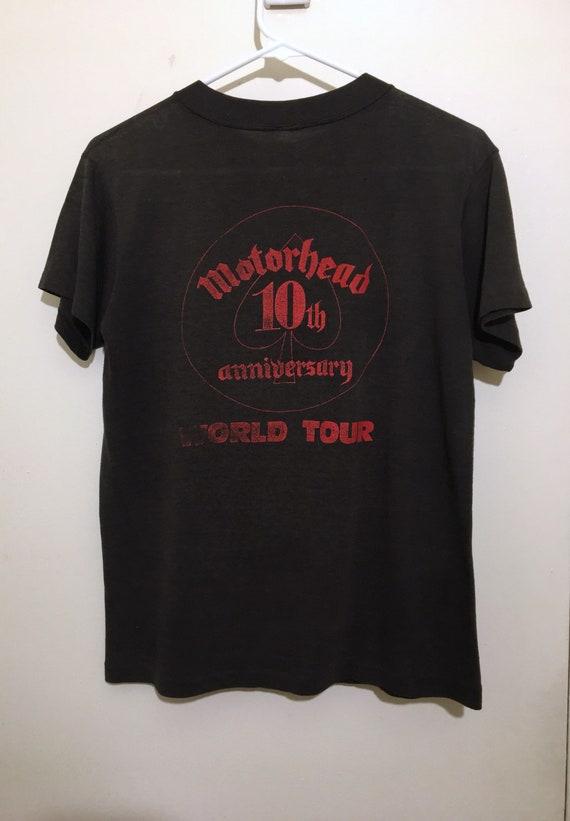 Vintage Motorhead Shirt 1985 World Tour - image 2