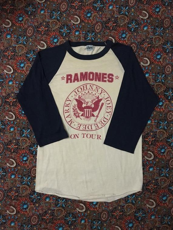 Vintage 80s Ramones Shirt
