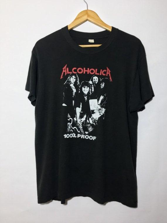 1980 Rare Vintage Metallica Shirt