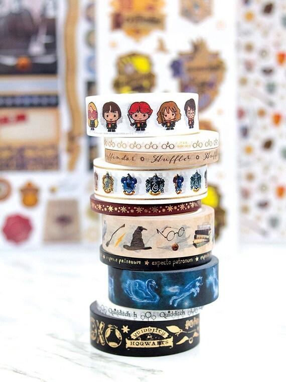 HP Deathly Hallows HP Washi Masking Adhesive Tape Cute Gift