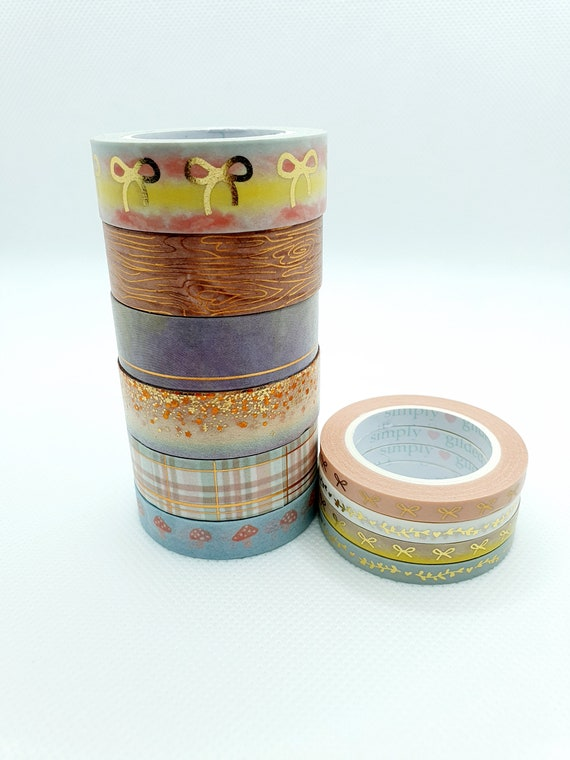 Park Avenue August 2020 Box Simply Gilded Washi Sample Set