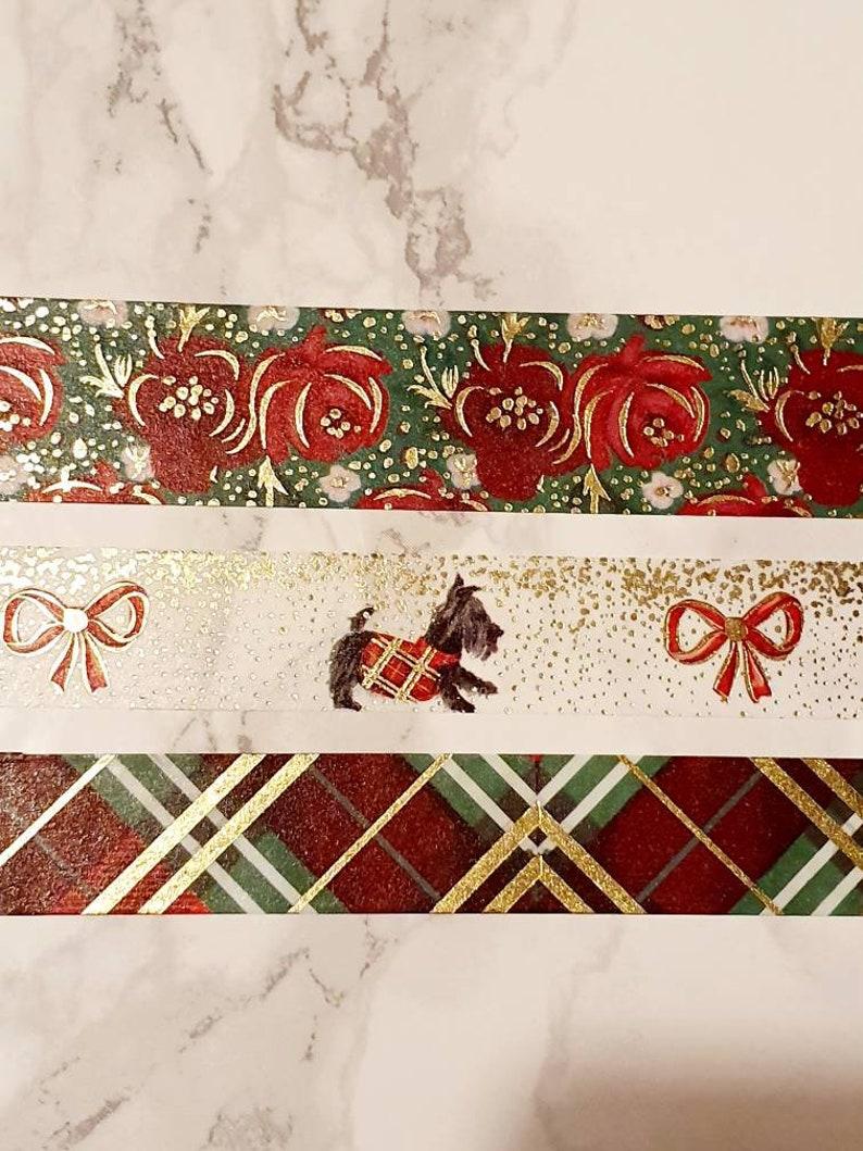 Bloomsical Washi Sample Set Merry Christmas Collection