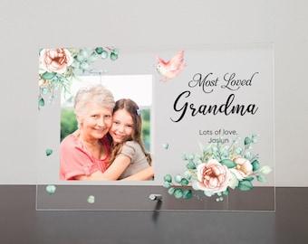 Personalised Mothers Day Nanny Mummy Nan Grandma Granny Photo Frame Wooden Plaque Gift Hamper Set Keepsake Letterbox Gift