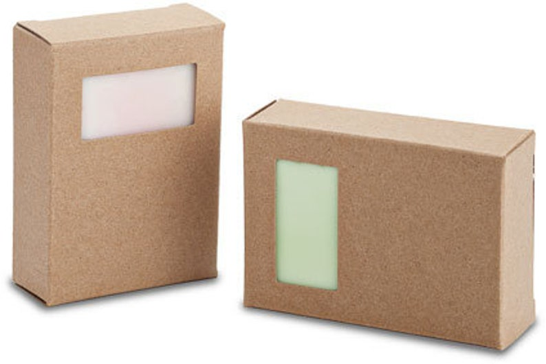 Soap Box Template 2.75x2x4-70x51x102mm Half Window PDF SVG DXF Eps Png Jpg Die Cut Cricut Tutorial Silhouette ScanNCut Printing Instructions