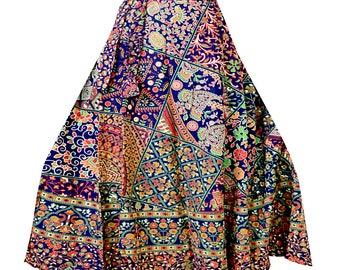 f44169605 Indian wrap skirt cotton skirt mandala wrap skirt boho long skirt  bridesmaid skirt indian wrap skirt bohemian skirt block print skirt