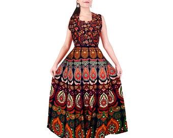 82dbc2a6e5d3 Indian maxi dress cotton maxi dress XXL boho long maxi dress elephant  bohemian maxi dress Indian gown block print maxi dress long dress