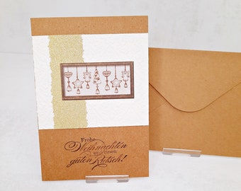 Christmas cards to choose from various Designs (Cards No. 22-24) Set of 2 corresponds to a unit price of 2.50 Euro
