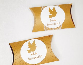 Gift Goodie Wedding Baptism Communion Confirmation Pigeon Fish Graduate Prices from 2.50 (1 Piece)-90.00 (50 Piece)