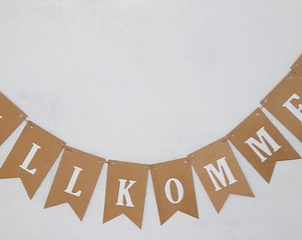 3 pennants from 2.85 to 19.85 Euro for 20 pennants Garland Pennant chain Flags Names Customizable Wedding, birth Birthday Anniversary