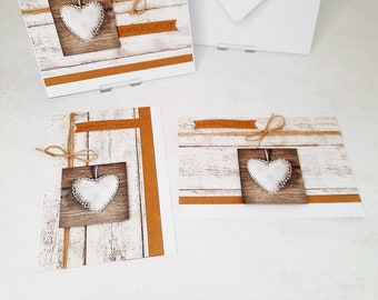 Christmas cards to choose from - Wood, White & Power series - see pictures (cards No. 30-32)