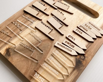 Cheese Markers for Charcuterie Boards | Cheese Labels | Cheese Markers |