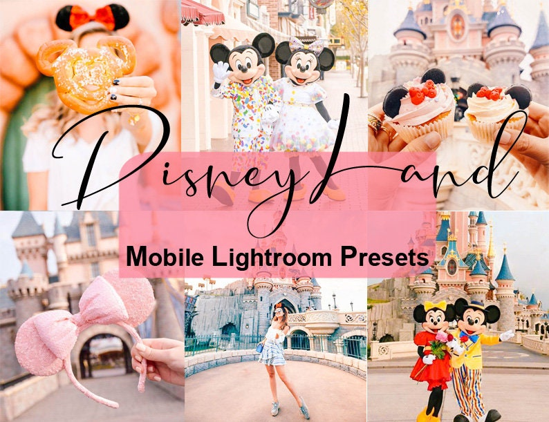 Mobile Lightroom Presets, DisneyLand Preset, Instagram Presets, Blogger  Presets, Best Presets, Photo Editing