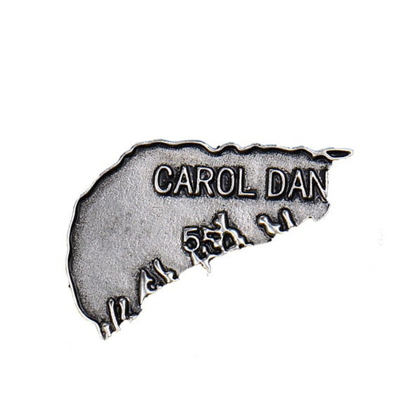 Carol Danvers Dog Tag Pin