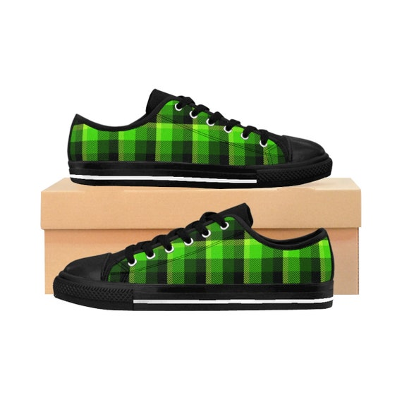 Patricks Day Clover Lady Canvas Casual Shoes Sneakers Low Help Tennis Shoes Happy St