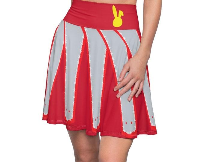Mighty Red Skater Skirt