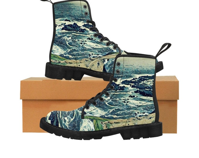 Off the Coast Canvas Boots