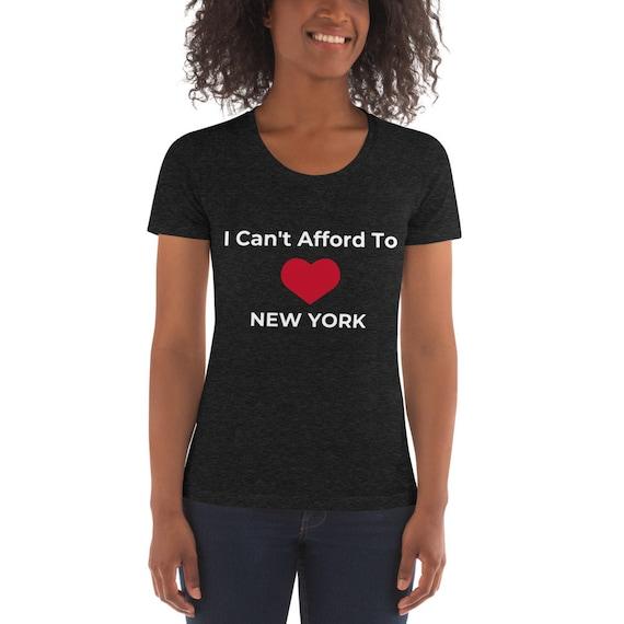Ladies fit I Love New York T Shirt