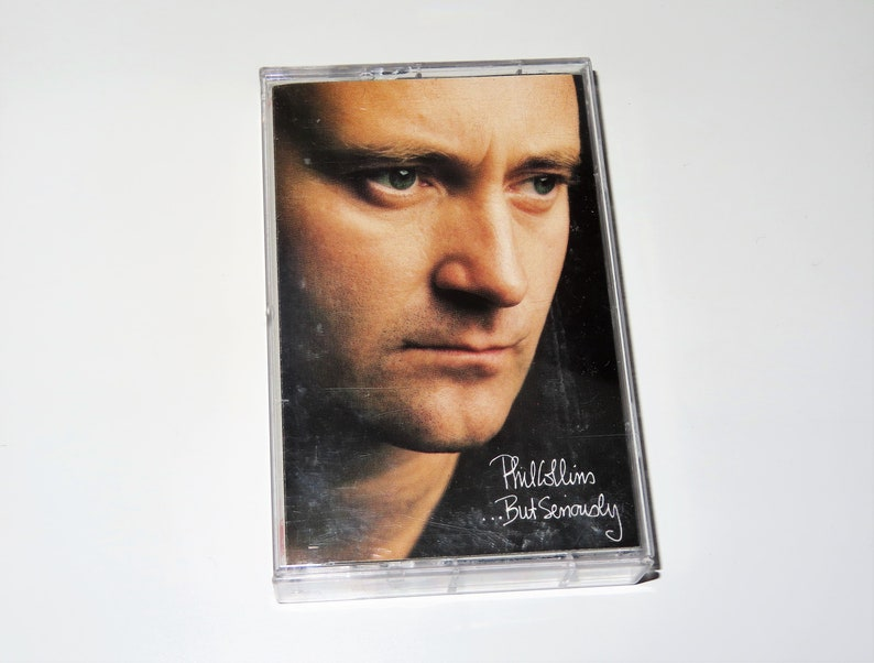 Vintage Cassette Tape Phil Collins But Seriously 1989 Atlantic Records Used Condition Tested
