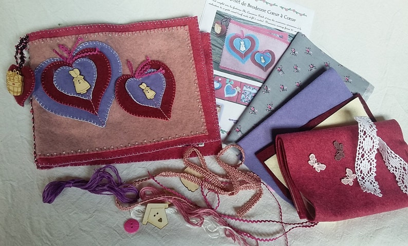 Embroidery heart to heart book