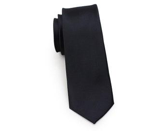 "Men Boy Unisex Skinny Slim Retro Tie Narrow 2/"" Wide Thin Necktie Square Tip"