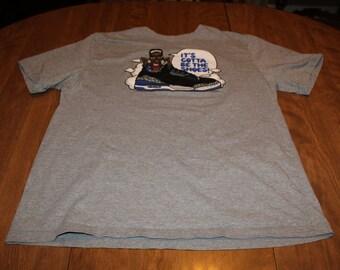 146fac733dc Jordan Mens T Shirt Gray XXL Spike Lee