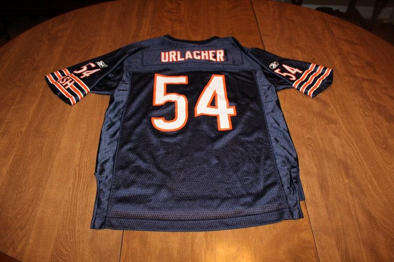 info for 88cec f32c3 Reebok Chicago Bears Brian Urlacher Jersey NFL Jersey - Large