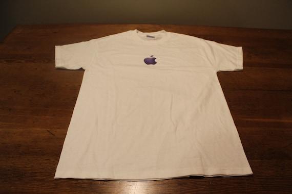 "Vintage Apple Computer T Shirt "" The Journey Begin"