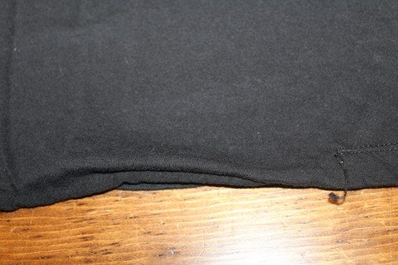 Vintage Nine Inch Nails NIN Black T Shirt with Gi… - image 4