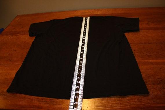 Vintage Nine Inch Nails NIN Black T Shirt with Gi… - image 7