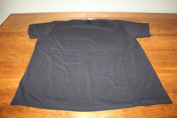 Vintage Nine Inch Nails NIN Black T Shirt with Gi… - image 5