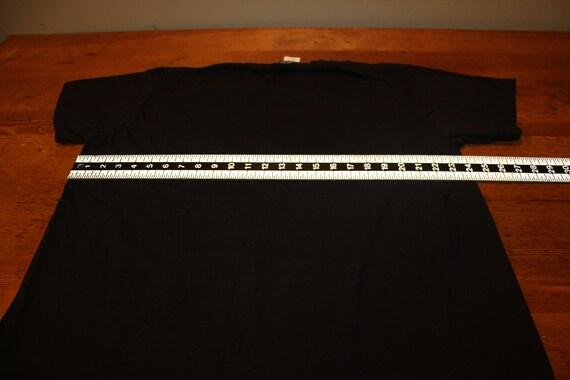 Vintage Nine Inch Nails NIN Black T Shirt with Gi… - image 6