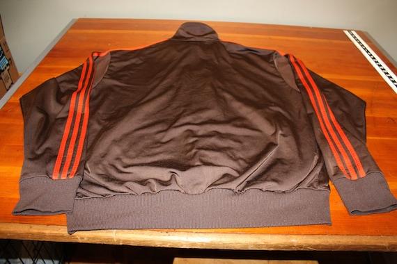 Adidas Jacke Vintage 80er Jahre Adidas braun Track Jacke | Etsy