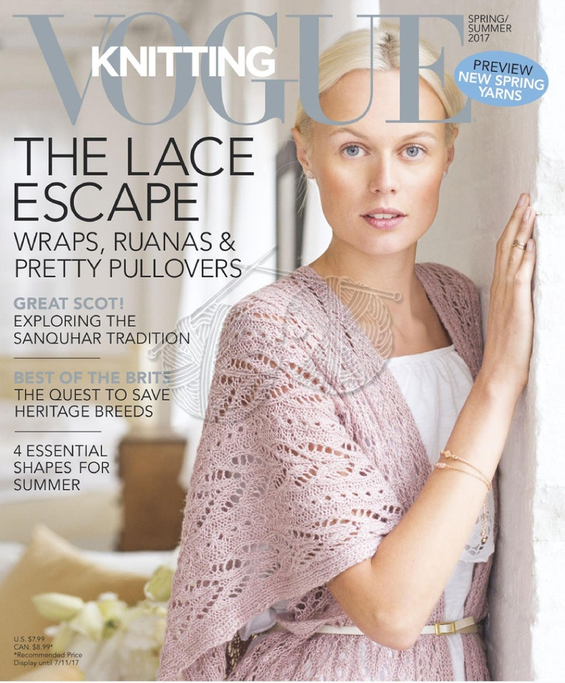 a8a690046aab Vogue Knitting Magazines Knitting Patterns for Women
