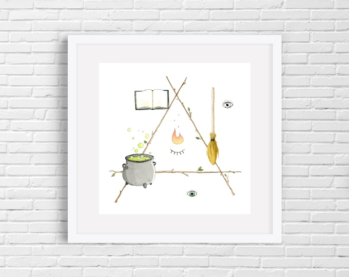 Witchcraft Print | Wall Art