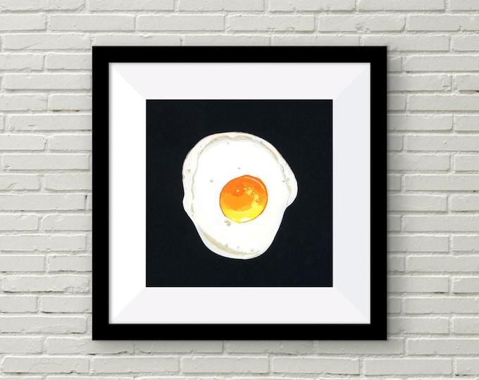 Fried Egg Art Print | Wall Art