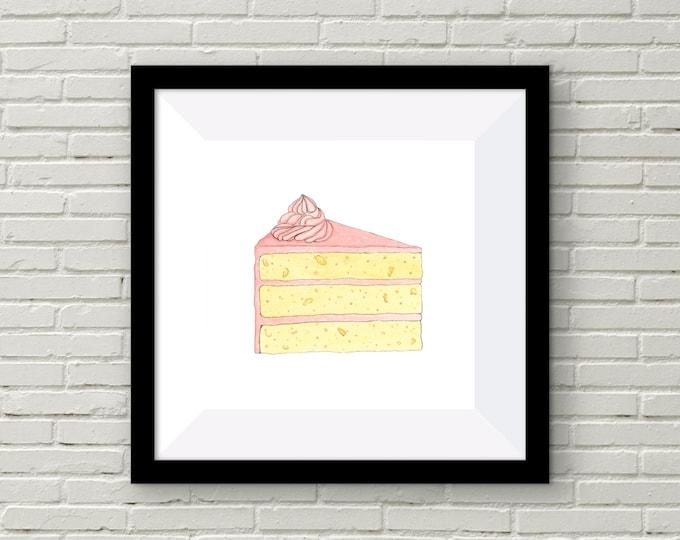 Cake Print | Wall Art