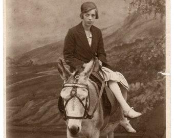 Blackpool Donkey Ride Vintage Original Scene Metal Sign:Home Decor Lovely Gift