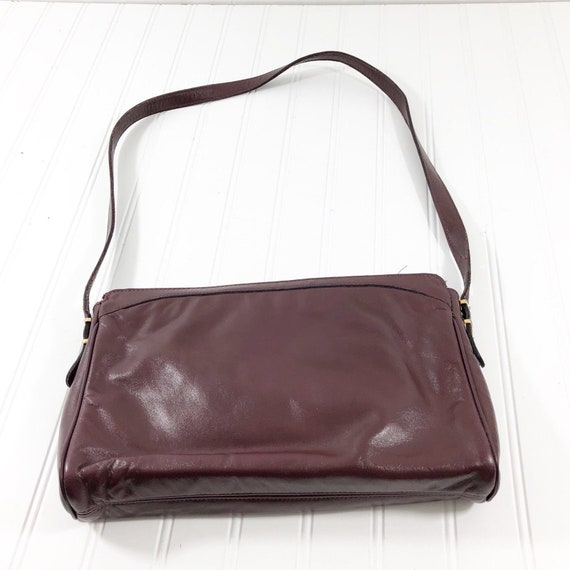 top quality new collection good selling Etienne Aigner Vintage Handtasche Schultertasche braun Leder