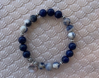 Sodalite & Lapis Lazuli Bracelet