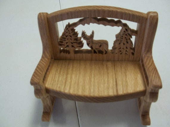 Fine 6 Small Rocking Wooden Bench Cowboy Cross With Horse Mothers Day Deer In Woods Flowers Inzonedesignstudio Interior Chair Design Inzonedesignstudiocom