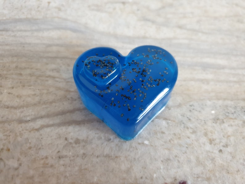 Natural Glycerine Soap Hands And Body Birthday Gift Soaps Blue