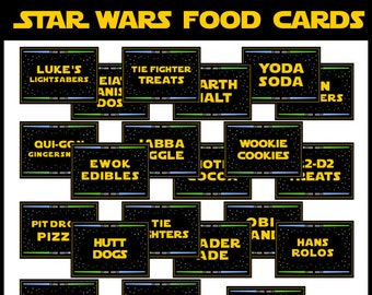 photo relating to Star Wars Printable Cards named Star wars printable Etsy