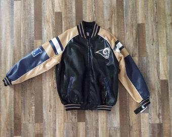more photos 735cc d39e7 Nfl leather jacket | Etsy