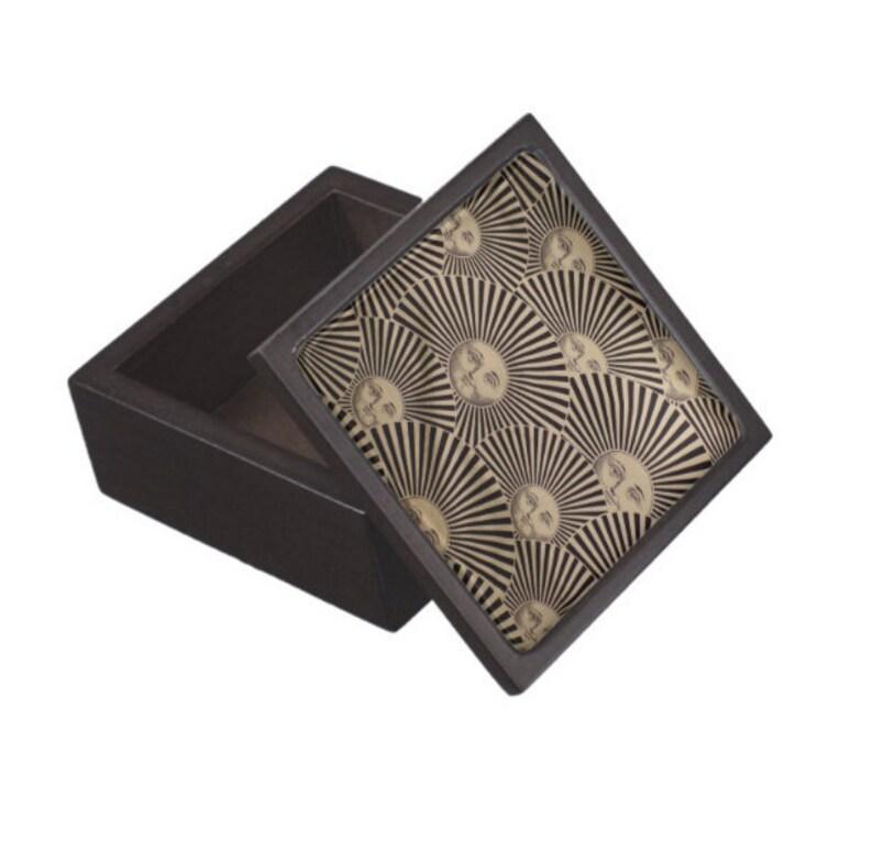 Fornasetti SOLE Sun Lidded Wooden Trinket Box